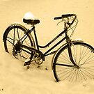 Snow Bicycle by AlbertStewart