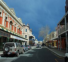 Storm Approaching Freo by Janette Rodgers