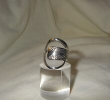 Ring from recycled teaspoon by Brian Cox
