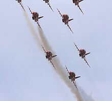 Red Arrows 2010 b by SWEEPER