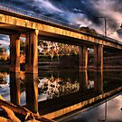 The Bridge HDR by John Vandeven