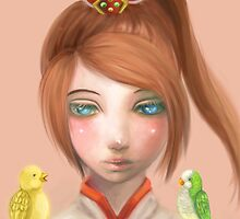 Little Xiao  by Manolya Jay Gan