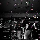 Metalphetamine Last gig Confetti by Trevor Fellows