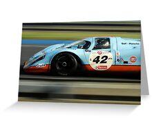 Porsche 917 Greeting Card