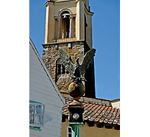 Stone Eagle & Campanile, Portmeirion Photographic Print