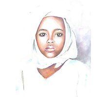 Nigerian girl Photographic Print