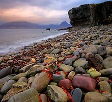 Elgol and the Black Cullins , Skye by David Mould