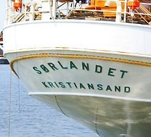SORLANDET - Norwegian Ship by Gilberte