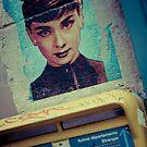 Audrey Hepburn by Angel Benavides