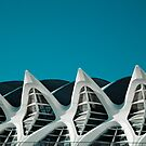 Blue sky of the future by Angel Benavides