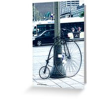 Bicycle for Experts Greeting Card