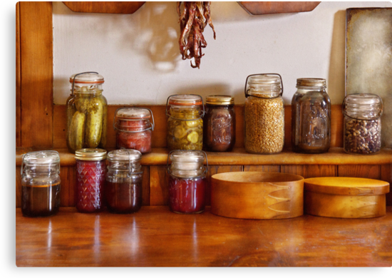 Chef - I love preserving things by Mike  Savad