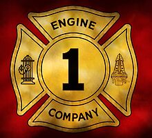 Fireman - Engine Company 1 by Mike  Savad
