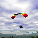 Flying high over Squam..... by maxy