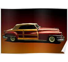 1946 Chrysler Town Country Convertible Poster