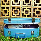 Pug In a Suitcase by Katie Weychardt
