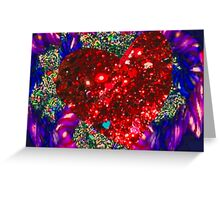 Love on my mind Greeting Card