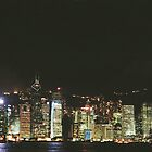 hong kong night scene by mtkang