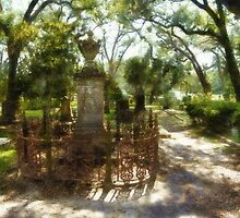Grace Church Cemetary - Louisiana by Rhonda Strickland