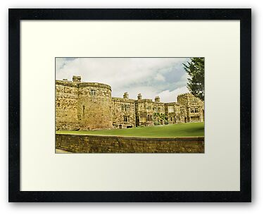 Skipton Castle by Catherine Hamilton-Veal  ©
