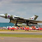 Vulcan taking off by SWEEPER