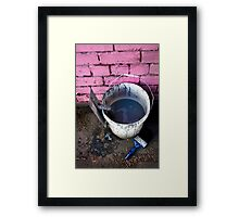 Paint Bucket Framed Print