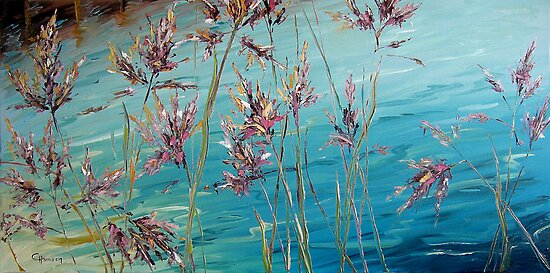 Reed Grass by Claudia Hansen