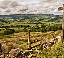 The footpath to the Lancashire landscape by Shaun Whiteman