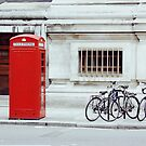 red telephone box. by kristinemay