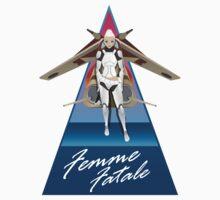 Femme Fatale Republic Propaganda by DaveCT