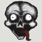 Crazy Skull (Long Tongue) by Stack