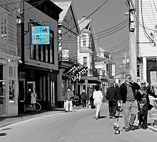 An Afternoon in Provincetown... by Karen  Helgesen