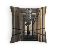 Business day Throw Pillow