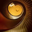 Lighthouse Stairway by Barbara  Brown