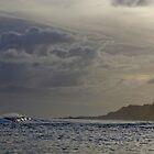 Twilight Surf  Norfolk Island by john  Lenagan