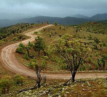 Razor Back Storm, Flinders Ranges by Joe Mortelliti