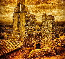 Ruins of the Ancient Village of Eygalières (Provence) by jean-louis bouzou