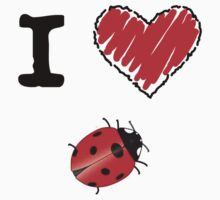 I Love Ladybugs by Lorie Warren