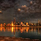 Chicago Skyline, Panorama by Ted Lansing
