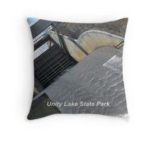 Unity Dam Spillway Throw Pillow