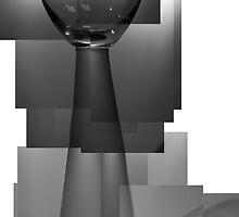 Wine Glass by Angela Cooke