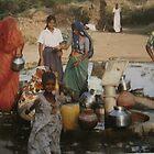 Street Scene in Rural India by Patricia127