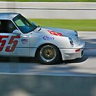 Porsche Fly By by Chuck Zacharias