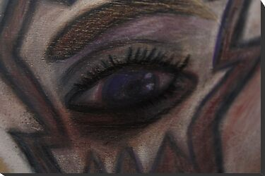 Conte Eye, Nonrepresentational by Christina Rodriguez
