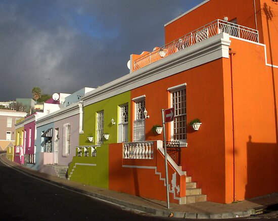 Bo-Kaap - Cape Town Malay District by Margaret  Hyde
