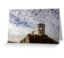 Mackerel Sky at Mow Cop  Greeting Card