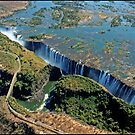 Victoria Falls and Batoka Gorge by ten2eight