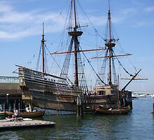 Mayflower II a replica by Poete100