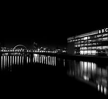 The Clyde at Night by Kasia-D