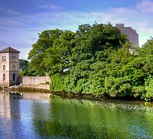 The Canal in Galway II - Galway, County Clare, Ireland by Mark Richards